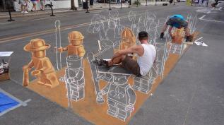 Стрит-арт | Хобби как искусство